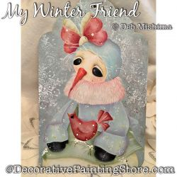 My Winter Friend (Snowman-Cardinal) DOWNLOAD - Deb Mishima