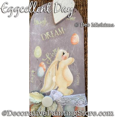 An Eggcellent Day (Bunny - Easter Eggs) DOWNLOAD - Deb Mishima
