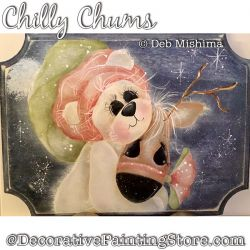 Chilly Chums (Polar Bear - Reindeer) Painting Pattern DOWNLOAD - Deb Mishima