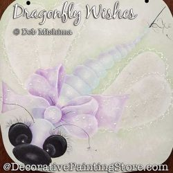 Dragonfly Wishes Painting Pattern PDF DOWNLOAD - Deb Mishima