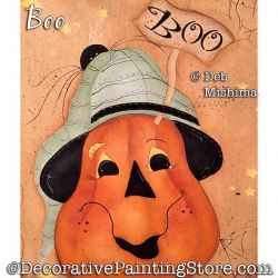 Boo Painting Pattern PDF DOWNLOAD - Deb Mishima