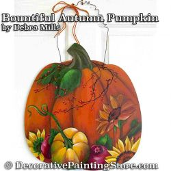 Bountiful Autumn Pumpkin e-Pattern - Debra Mills - PDF DOWNLOAD