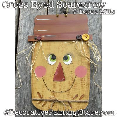 Cross-eyed Scarecrow DOWNLOAD - Debra Mills