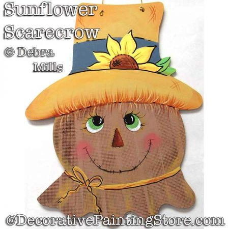 Sunflower Scarecrow DOWNLOAD - Debra Mills