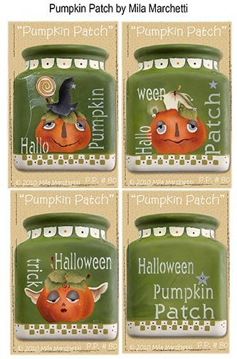 Pumpkin Patch Pattern - Mila Marchetti - PDF DOWNLOAD
