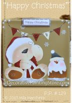 Happy Christmas Pattern - Mila Marchetti - PDF DOWNLOAD