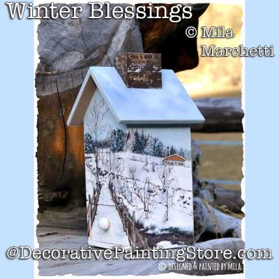 Winter Blessings ePattern - Mila Marchetti - PDF DOWNLOAD