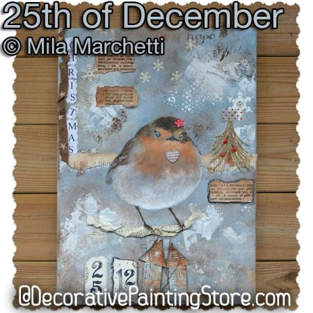 25th of December ePattern - Mila Marchetti - PDF DOWNLOAD