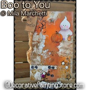 Boo to You from Our Crew ePattern - Mila Marchetti - PDF DOWNLOAD