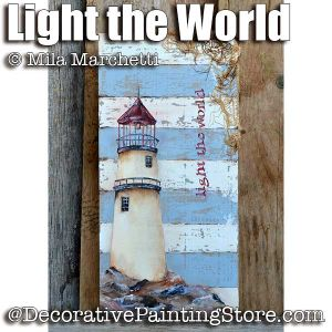 Light the World ePattern - Mila Marchetti - PDF DOWNLOAD