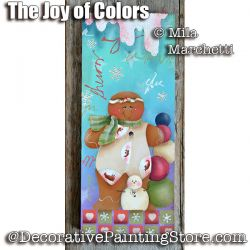 The Joy of Colors ePattern - Mila Marchetti - PDF DOWNLOAD