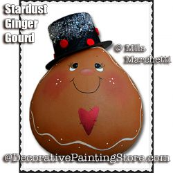 Stardust Ginger Gourd ePattern - Mila Marchetti - PDF DOWNLOAD