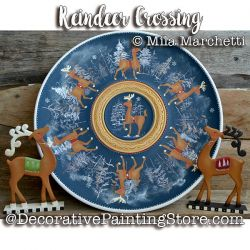 Reindeer Crossing ePattern - Mila Marchetti - PDF DOWNLOAD