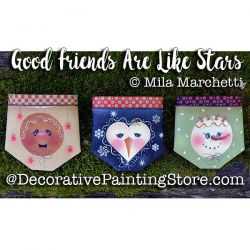 Good Friends Are Like Stars ePattern - Mila Marchetti - PDF DOWNLOAD