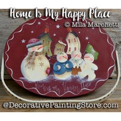 Home Is My Happy Place ePattern - Mila Marchetti - PDF DOWNLOAD
