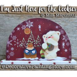 Im Just Here for the Cookies ePattern - Mila Marchetti - PDF DOWNLOAD
