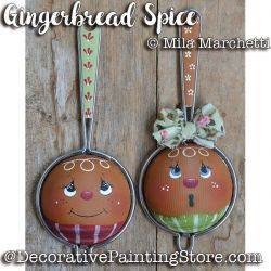 Gingerbread Spice Strainers ePattern - Mila Marchetti - PDF DOWNLOAD