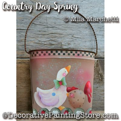 Country Day Spring ePattern - Mila Marchetti - PDF DOWNLOAD