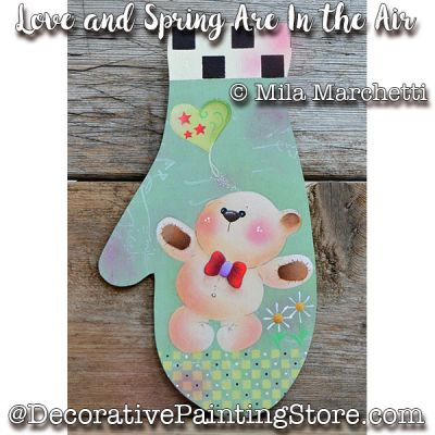 Love and Spring Are in the Air ePattern - Mila Marchetti - PDF DOWNLOAD