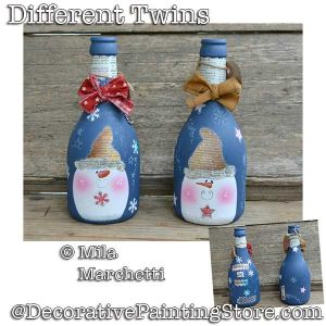 Different Twins (Snowman Bottles) DOWNLOAD - Mila Marchetti
