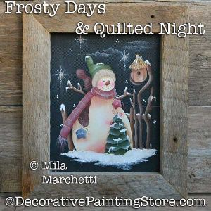 Frosty Days and Quilted Night DOWNLOAD - Mila Marchetti