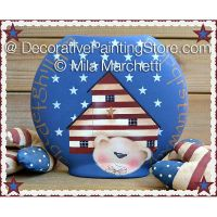 Stars Striped and SaltBox ePattern - Mila Marchetti