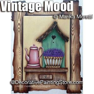 Vintage Mood ePattern - Marika Moretti - PDF DOWNLOAD