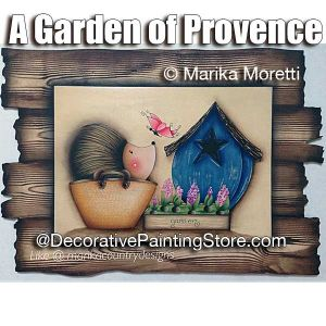 A Garden of Provence ePattern - Marika Moretti - PDF DOWNLOAD