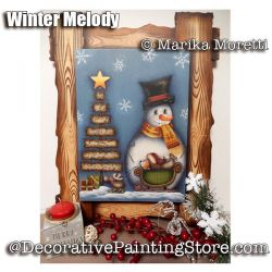 Winter Melody ePattern - Marika Moretti - PDF DOWNLOAD