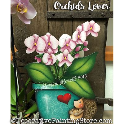 Orchids Lover ePattern - Marika Moretti - PDF DOWNLOAD