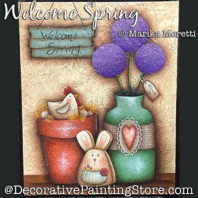 Welcome Spring DOWNLOAD - Marika Moretti