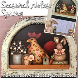 Seasonal Notes Spring Painting Pattern PDF DOWNLOAD - Marika Moretti