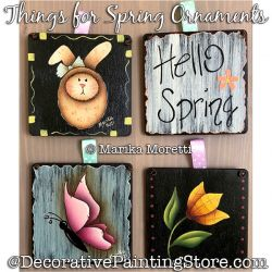 Things for Spring - Ornaments Painting Pattern PDF DOWNLOAD - Marika Moretti