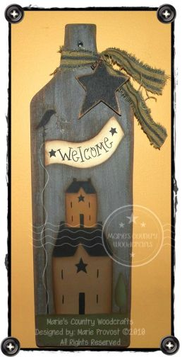 Saltbox House Welcome Pattern BY DOWNLOAD