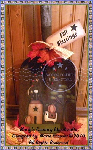 Fall Blessings Shovel Pattern BY DOWNLOAD