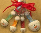 Measuring Spoon Snowman Ornament e-Pattern DOWNLOAD