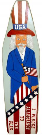 I Pledge Allegiance Uncle Sam Ironing Board Pattern DOWNLOAD