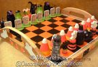 Halloween Chess Set Pattern BY DOWNLOAD