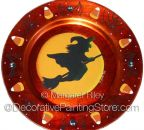 Halloween Witch Plate Charger Pattern BY DOWNLOAD