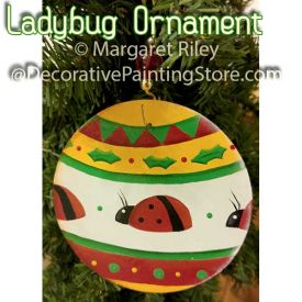 Ladybug Ornament DOWNLOAD