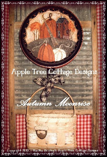 Autumn Moonrise e-Pattern - Martha Smalley - PDF DOWNLOAD