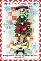 Happy Holidays Christmas Tree Skate e-Pattern - Martha SMalley - PDF DOWNLOAD
