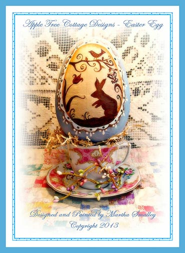 Easter Egg e-Pattern - Martha Smalley - DOWNLOAD
