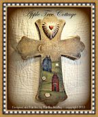 The Lord is My Shepherd - Saltbox House Cross e-Pattern - Martha Smalley - PDF DOWNLOAD