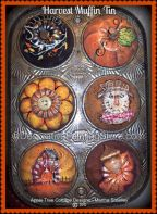 Harvest Muffin Tin Pattern - Martha Smalley - PDF DOWNLOAD
