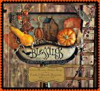Autumn Blessings Dustpan Hanger Pattern - Martha Smalley - PDF DOWNLOAD
