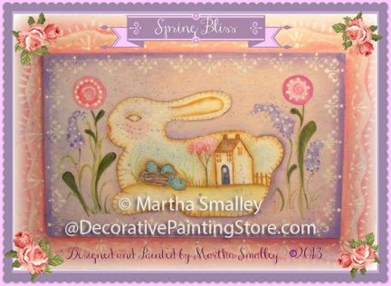 Spring Bliss Bunny Pattern - Martha Smalley - PDF DOWNLOAD