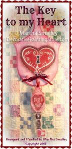 The Key to My Heart Pattern - Martha Smalley - PDF DOWNLOAD