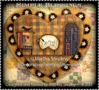 Simple Blessings Heart Pattern - Martha Smalley - PDF DOWNLOAD