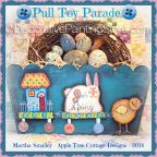 Pull Toy Parade Pattern - Martha Smalley - PDF DOWNLOAD